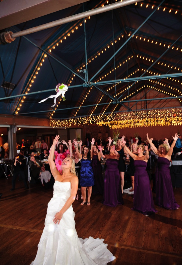 The Bouquet Toss...