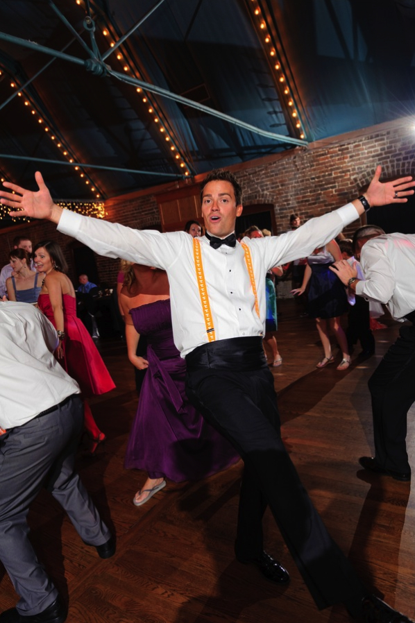 This Groom's got moves!